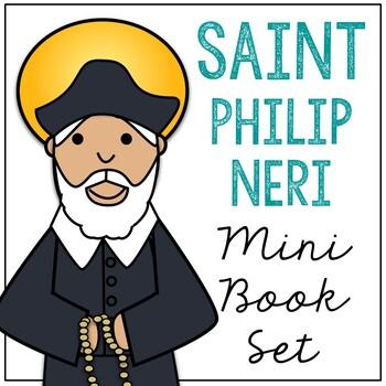 Saint Philip of Neri l Mini Book in 3 Formats, Catholic Resource