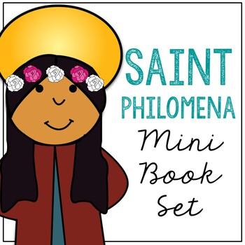 Saint Philomena l Mini Book in 3 Formats, Catholic Resource
