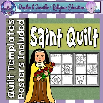 Saint Quilt Template ~ Ideal for Confirmation / All Saints Day