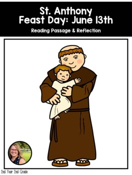 Saint Reading Passage & Reflection - Saint Anthony of Padua