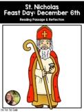 Saint Reading Passage & Reflection - Saint Nicholas