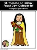 Saint Reading Passage & Reflection - St. Therese
