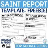 Saint Report Freebie