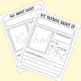 Saint Report Printable (Saint Notebooking Page)
