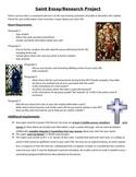 Saint Research Paper