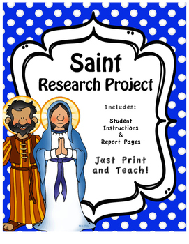 Saint Research Project Booklet