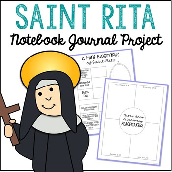 Saint Rita Notebook Journal Project, Christian Resources