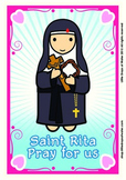 Saint Rita Poster