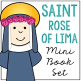 Saint Rose of Lima Biography Mini Book in 3 Formats, Catholic Resource