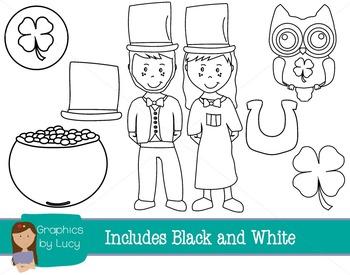Saint Patrick's Day Clip Art Set! 16 PNG Images {Personal & Commercial Use}