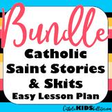 Saint Stories Bundle: Plays about Catholic Saints for an E
