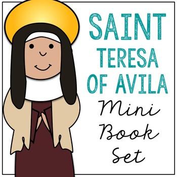 Saint Teresa of Avila l Mini Book in 3 Formats, Catholic Resource