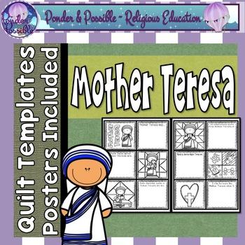 Saint Teresa of Calcutta Quilt ~ Mother Teresa