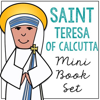 Saint Teresa of Calcutta l Mini Book in 3 Formats, Catholic Resource