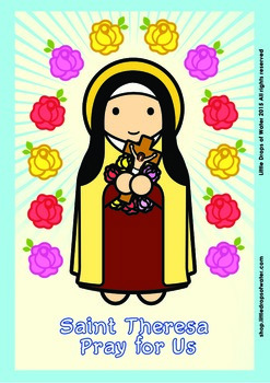 Saint Theresa Poster