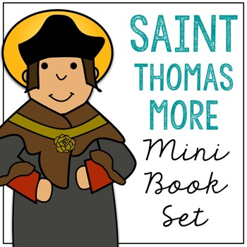 Saint Thomas More l Mini Book in 3 Formats, Catholic Resource