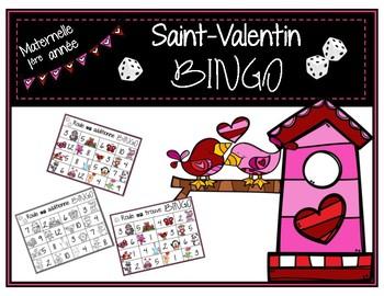 Saint-Valentin - 2 jeux de BINGO / Valentine BINGO