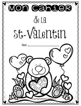 Saint-Valentin - Activités imprimables de numératie - Numeracy printables K-1