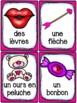 Saint-Valentin - Cartes de vocabulaire - French Valentine's Day