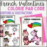 Saint-Valentin - Colorie par Code