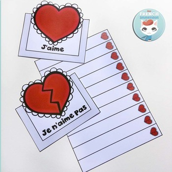 FRENCH Valentine's Day Lapbook | La Saint-Valentin