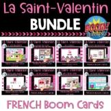 Saint Valentin:  French Valentine's Day Digital Task Cards BUNDLE - BOOM CARDS