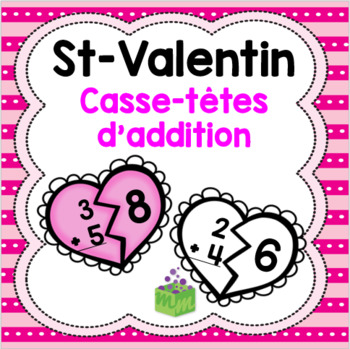Saint-Valentin casse-têtes d'addition