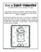 Saint-Valentin : ensemble d'activités de français et mathématiques (à imprimer)