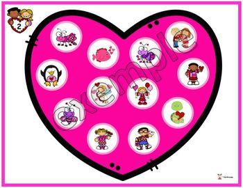 Saint-Valentin: un coeur à remplir