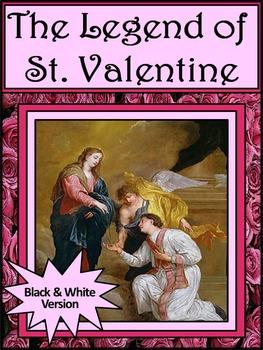 Valentine's Day History Activities: Legend of Saint Valentine Activity Packet