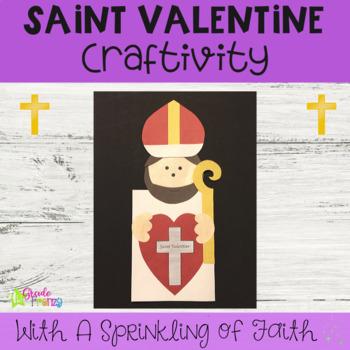 Saint Valentine Craftivity