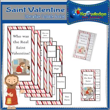 Saint Valentine Interactive Foldable Booklet
