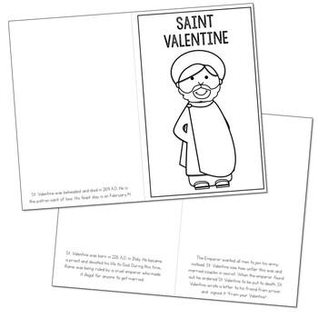 Saint Valentine l Mini Book in 3 Formats, Catholic Resource