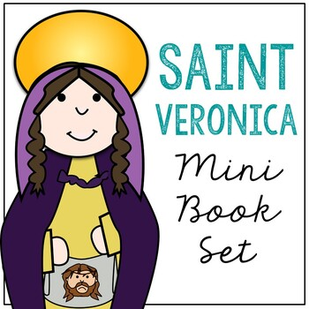 Saint Veronica l Mini Book in 3 Formats, Catholic Resource