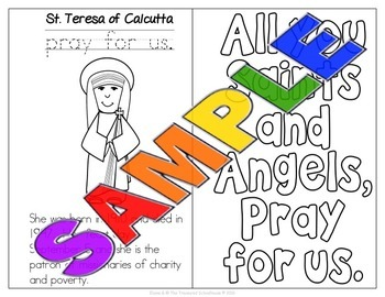Saints Coloring Booklet