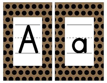 Saints Inspired Black and Gold Alphabet and Number Cards for Word Walls-Editable