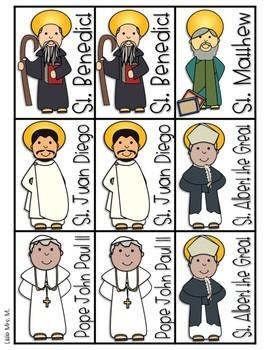 Saints Partner Cards