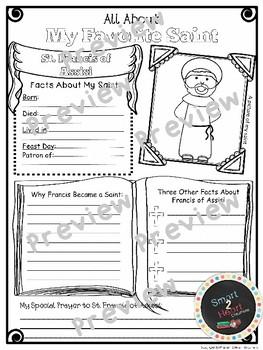 Saints Posters - Research Report Project -75 Featured Saints