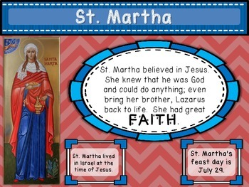 Saints Posters for Primary Grades (Year 2)