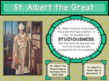 Saints Posters for Primary Grades (Year 3)
