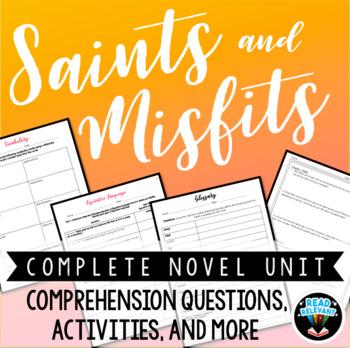 Saints and Misfits Complete Novel Unit