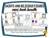 Saints and Religious Figures Mini Books BUNDLE