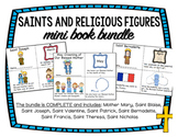 Saints and Religious Figures Mini Books BUNDLE