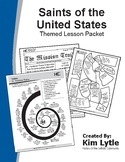 Saints of the United States Themed Lesson Packet - 10 Lessons