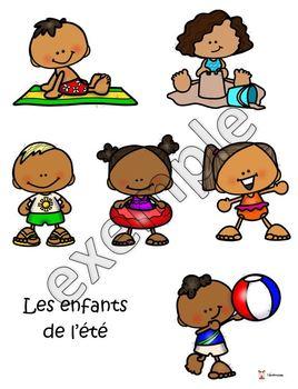 Saisons: les enfants (classification)