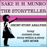 "Saki's ""The Storyteller"": Literary Analysis & Creative Thinking Task"