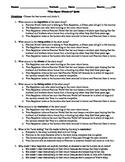 "Saki's ""Open Window"" 15-Question Multiple Choice Quiz"