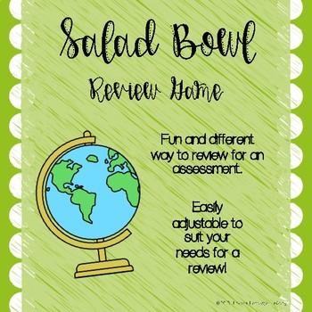 Salad Bowl Review Game