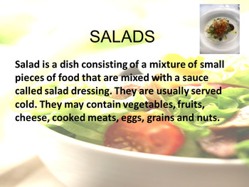 Salad Power Point