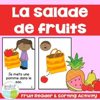 Salade de fruits French Fruit Reader & Sorting Page {en français}